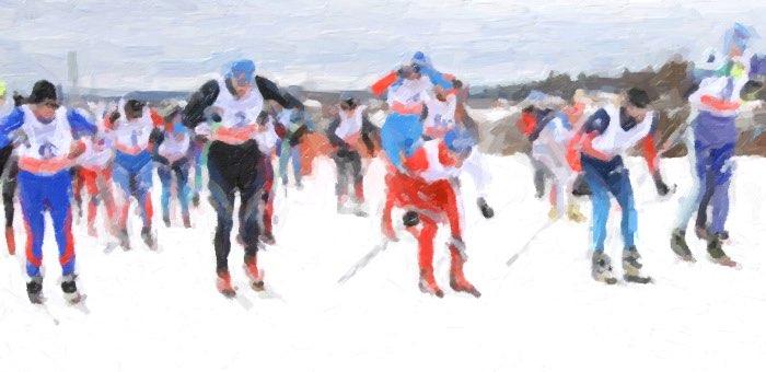 Лыжные гонки в рамках Спартакиады трудовых коллективов прошли в Горно-Алтайске