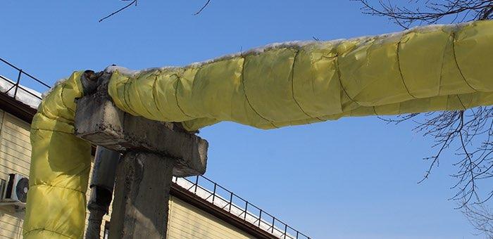 Сигнал услышан: в Горно-Алтайске восстановили теплоизоляцию на воздушных теплосетях