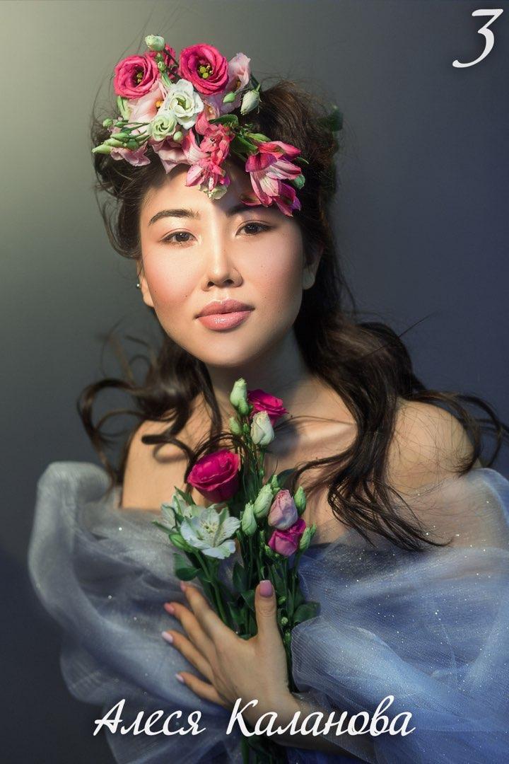 Подборка фотографий финалисток конкурса «Принцесса Алтая»