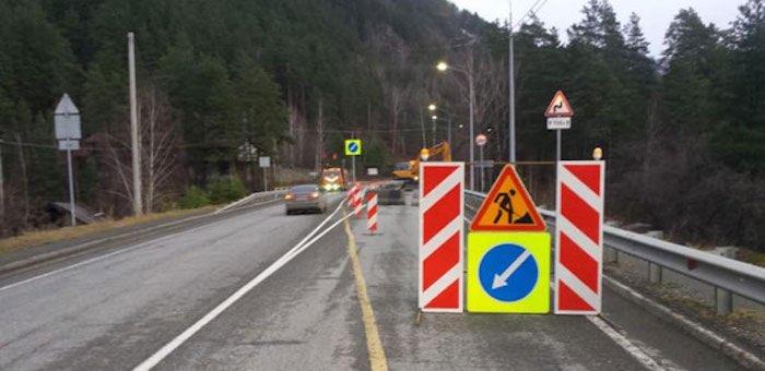 Движение по мосту через реку Муны на Чуйском тракте 14 февраля ограничат
