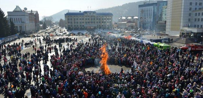 1 марта в Горно-Алтайске отпразднуют Масленицу