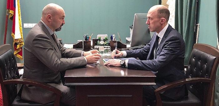 Глава республики встретился с руководителем Рослесхоза