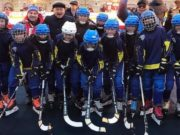 Хоккейная команда девочек «Чарас» успешно выступает в Москве