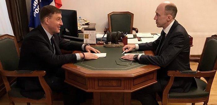 Олег Хорохордин обсудил с Андреем Турчаком изменения в лесном законодательстве