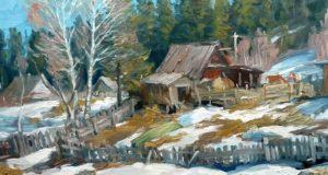 Весна близко: в Горно-Алтайске пройдет выставка художника Владимира Ельникова