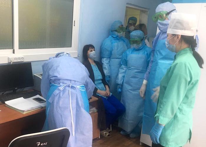 Учения по противодействию коронавирусу прошли в Онгудае