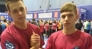 Спортсмены с Алтая приняли участие в первенстве России по армрестлингу
