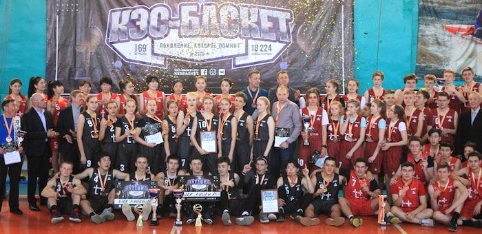 Команды лицея №6 одержали победу в соревнованиях по баскетболу