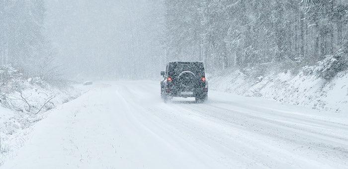 Штормовое предупреждение: ожидается похолодание, снег, ветер и сильный гололед