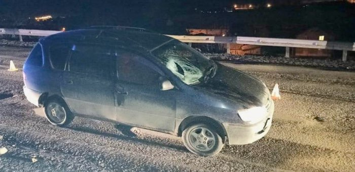 Нетрезвый пешеход попал под колеса автомобиля в Горно-Алтайске