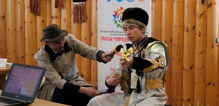 Эркул Чулунов стал победителем фестиваля «Эпосы народов России»