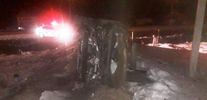 Удирая от ДПС, нетрезвый водитель перевернул машину и попал в больницу