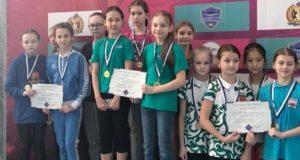 Юные пловцы из Республики Алтай успешно вступили на соревнованиях в Новосибирске