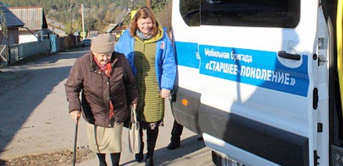 Свыше 350 пожилых людей получили помощь специализированных мобильных бригад