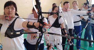 Соревнования по стрельбе из лука прошли в Горно-Алтайске