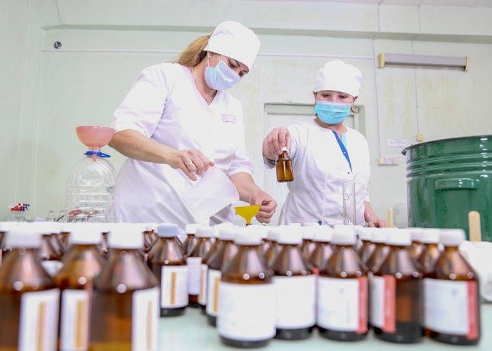 В Горно-Алтайске начали производить антисептики