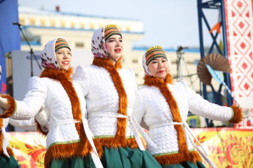 Масленицу отпраздновали в Горно-Алтайске