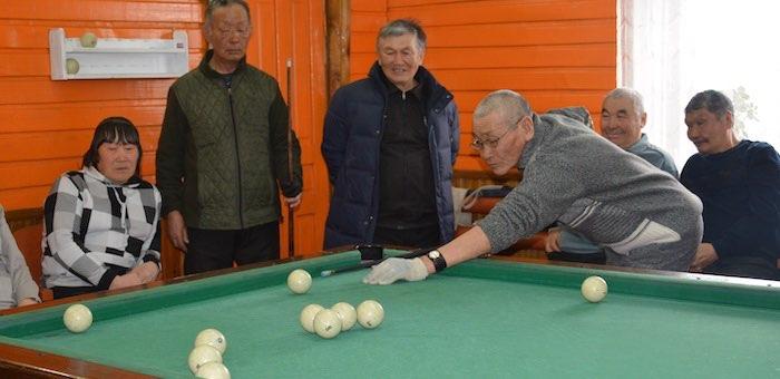 Турнир Онгудайского района по бильярду прошел в Куладе