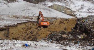 Дым от горящего мусора в урочище Сара-Кобы накрыл Онгудай