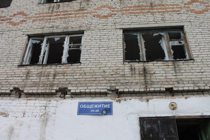 В Горно-Алтайске снесли аварийное здание общежития политехнического колледжа