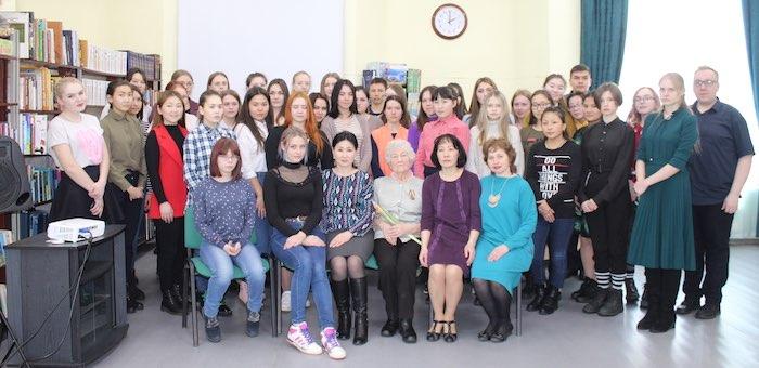 Студентам рассказали о юных героях Великой Отечественной войны