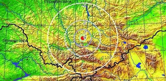 В Улаганском районе произошло землетрясение