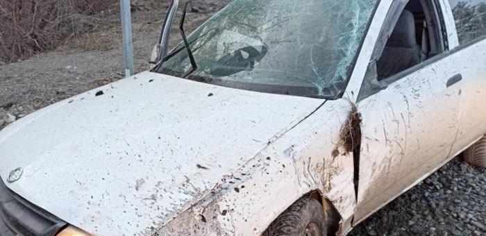 Пьяный молодой человек без прав разбил иномарку на Чуйском тракте