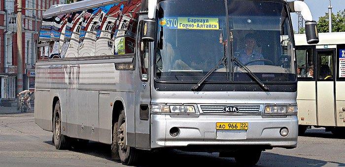 Количество межрегиональных автобусных рейсов из Горно-Алтайска сокращено вдвое