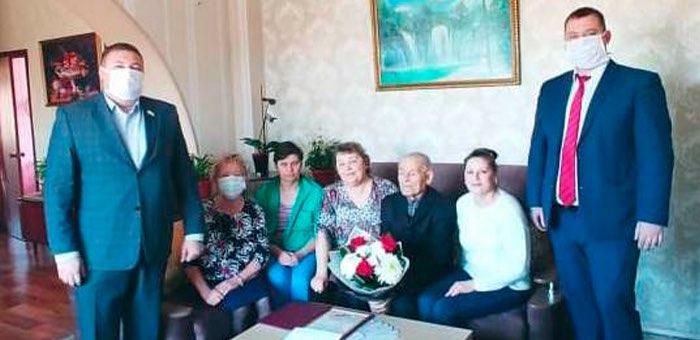 В Майме еще два ветерана отметили 90-летие