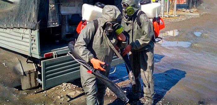 В Майминском районе 23 апреля пройдет дезинфекция территорий