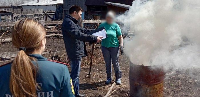 26 жителей республики оштрафовали за нарушение противопожарного режима