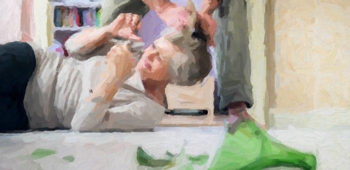 Сельчанин покалечил собутыльницу своей нерадивой жены