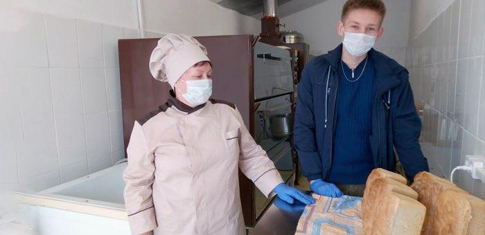 В селе Ускуч открылась пекарня