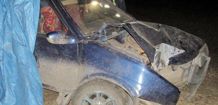 Нетрезвый водитель на ВАЗ врезался в опору ЛЭП в Чендеке
