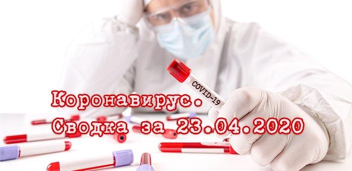 Ситуация с коронавирусом в Республике Алтай. Сводка за 23 апреля