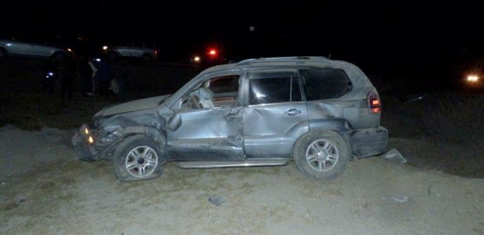 На Чуйском тракте перевернулся «Лексус», водитель погиб