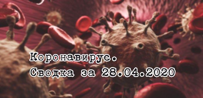 Ситуация с коронавирусом в Республике Алтай. Сводка за 28 апреля