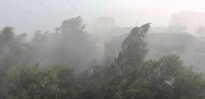 Ожидается сильный ветер: жителей региона просят соблюдать осторожность