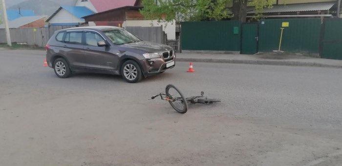 Водитель на BMW сбил несовершеннолетнего велосипедиста в Кызыл-Озеке