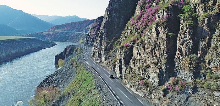103 километра Чуйского тракта отремонтируют в 2020 году в Республике Алтай