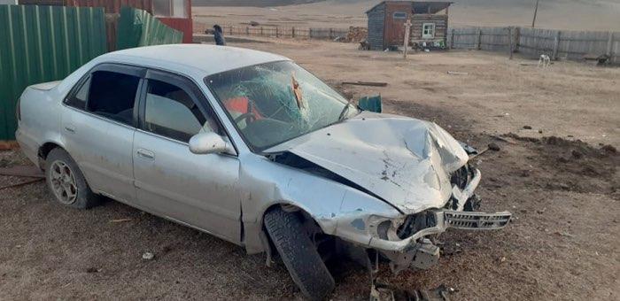 На дороге Ябоган – Туекта перевернулся автомобиль, водитель погиб