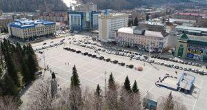 Мэрия собирает предложения по благоустройству центральной площади