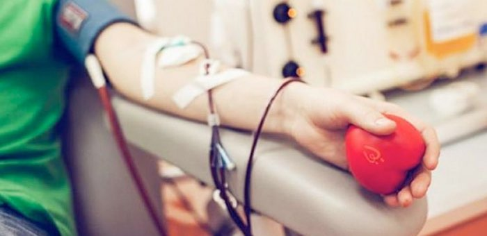 Станция переливания крови ждет доноров