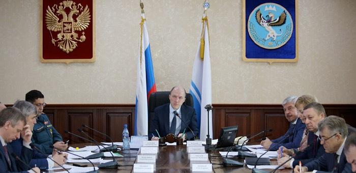 Олег Хорохордин призвал глав районов организовать дезинфекцию общественных мест