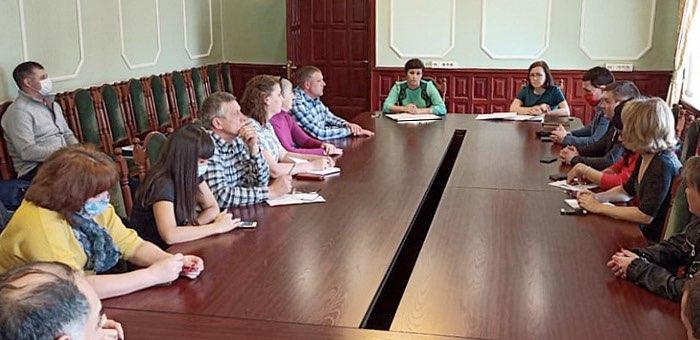В мэрии прошло совещание с предпринимателями