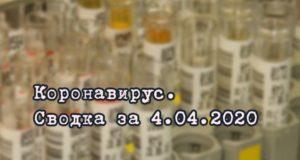 Ситуация с коронавирусом в Республике Алтай. Сводка за 4 апреля