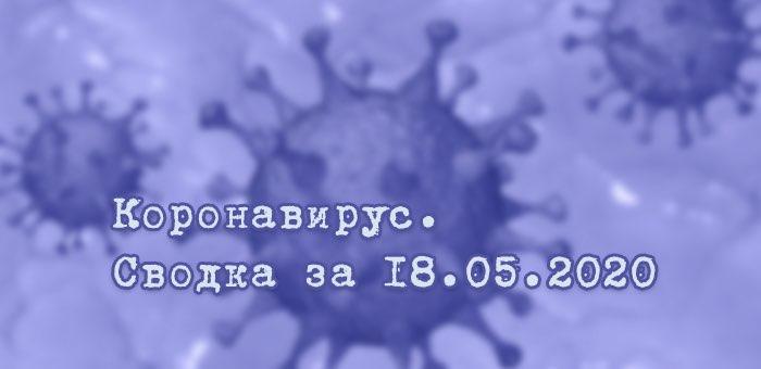 Ситуация с коронавирусом в Республике Алтай. Сводка за 18 мая