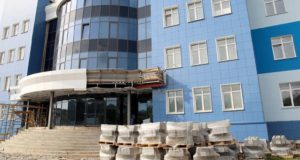 В Горно-Алтайске продолжается строительство медсанчасти МВД
