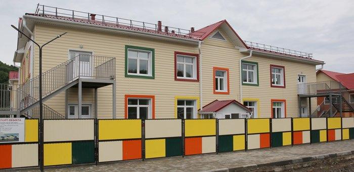 Завершается строительство нового детского сада в районе Заимки
