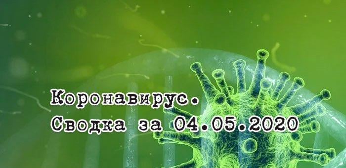 Ситуация с коронавирусом в Республике Алтай. Сводка за 4 мая